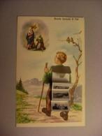 Cartolina Ricordo Santuario Di Pinè (Montagnaga - Trento) 1965 - Trento