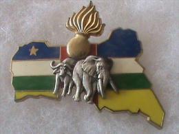 DETACHEMENT PREVOTAL EN REPUBLIQUE CENTRE AFRICAINE       DELSART - Polizia