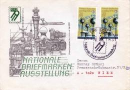 DDR Brief 1979 - 2 X 2442 Nationale Briefmarkenausstellung 1979 - [6] Democratic Republic