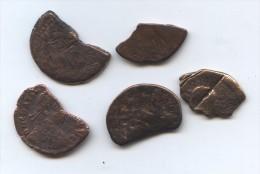 Lot De 5 Monnaies Romaines, Byzantines à Identifier - Lots
