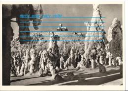 Photo ALLEMAGNE DER JESCHKEN 1010 M VERLAG M AURICH ANSICHTSKARTEN GROBHANDEL REICHENBERG ND HANICHEN SCHLACHTHOFSTR 64 - Lieux