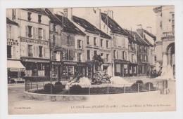 Carte Postale, La Ferté Sous Jouarre, L´hotel De L´hotel De Ville Et La Fontaine - La Ferte Sous Jouarre