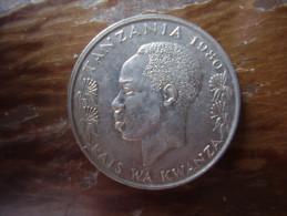 TANZANIA 1980 ONE SHILLING NYERERE Copper-Nickel  UNCIRCULATED COIN. - Tanzania