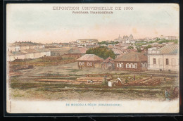 75 --  Exposition Universelle De 1900 -- Panorama Transsiberien -- De Moscou A Pekin -- ( Krasnoiarsk ) - Expositions