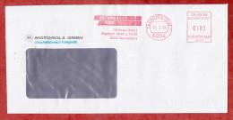 Brief, Francotyp-Postalia F68-3487, Motorola Funk, 100 Pfg, Taunusstein 1991 (51879) - Briefe U. Dokumente