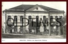 ABRANTES - EDIFICIO DAS REPARTIÇOES PUBLICAS - 1940 PC - Santarem