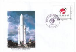 Enveloppe  Fusee Ariane 5   Ville Ariane 2013 - France
