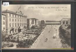 MILANO - HOTEL DU NORD ET DES ANGLAIS - TB - Milano (Milan)