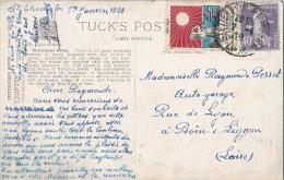 Erinophilie Sur Carte Postale - Commemorative Labels