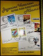PUB PUBLICITE ALBUM OLIVIER RAMEAU MICHEL VAILLANT LE PRINCE BLANC CHLOROPHYLLE SIMON DU FLEUVE - Collections