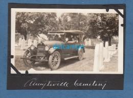 Photo Ancienne - AMITYVILLE , Pennsylvania - Belle Automobile Américaine - 1910 - TOP RARE - Cars
