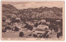 Montenegro - Crna Gora - Cetinje - View To The East Side - Pogled Na Istocnu Stranu - Montenegro
