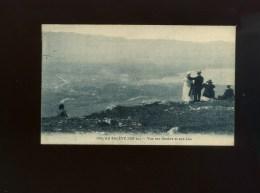 74 - Au SALEVE (alt. 1300m.) - Vue Sur Genève Et Son Lac - Animation  Voy 1930 - Other Municipalities