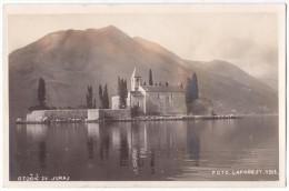 Montenegro - Crna Gora - Sv. Juraj Island - Otocic - Foto Laforest 1928 - Not Used - Montenegro