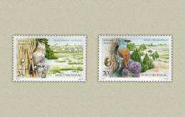 Hungary 1998. Animals / Birds / Famous National Parks Set MNH (**) Michel: 4516-1517 - Unclassified