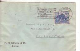 27-Germania Reich-25p.+15p.-Salisburgo-Al Verso Striscetta Censura Tedesca E Annullo A Targhetta- Visitate L'Italia-1940 - Briefe U. Dokumente