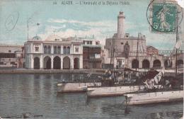 CPA Alger - L´Amirauté Et La Défense Mobile - 1910 (3064) - Algerien