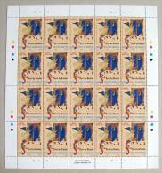 San Marino 1995 - Neri Da Rimini- 1 Foglio Da 20  Francobolli   (a30) - Blocchi & Foglietti
