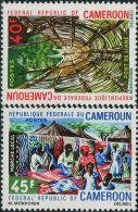 AC0860 Cameroon 1966 Bamboo Bridge And Fairs 2v MNH - Non Classés
