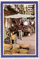 ITALIA- CAMPANIA- NAPOLI:  Nº 324. CARTOLINA POSTALE CARATTERISTICA STRADA DELLA VECCHIA CITTÀ.  NON CIRCOLATA. GECKO. - Napoli (Naples)