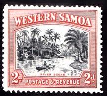 Samoa, 1935, SG 182, Mint Hinged (Perf: 14x14) - Samoa (Staat)