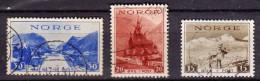 Norvège Y&t N° 190.191.192. - Used Stamps