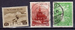Norvège Y&t N° 187 Neuf Avec Aminci 187.213.oblitérés - Used Stamps