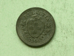 1946 - 1 Rappen / KM 3a ( Uncleaned - For Grade, Please See Photo ) ! - Suisse