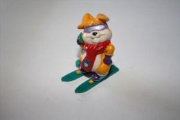 "Kinder Hanny Bunny""s Lustige Ski Hasen N°7 1996 - Monoblocs"