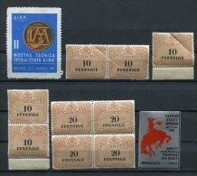 LIQUIDATIONSPOSTEN Mit Vignetten, Stempelmarken, Guenstig ! (00597-25) - Lots & Kiloware (mixtures) - Max. 999 Stamps