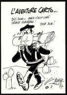 CPM - L'Aventure Carto - KERIK - Bourse De Douarnenez - 1987 - Etat Neuf - Autres Illustrateurs
