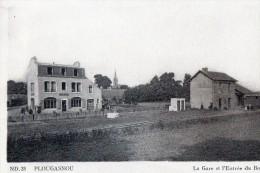 [29] Finistère > Plougasnou La Gare Et L Entree Du Bourg - Plougasnou