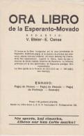 Brochure About Books In Esperanto Sold In Amsterdam - Broŝuro Pri Libroj En Esperanto Venditaj En Amsterdamo - Oude Boeken