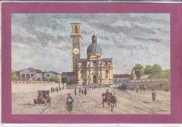 VICENZA .-  Basilica Di Monte Berico E Piazzale Della Vittuoria - Vicenza