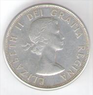 CANADA 50 CENTS 1963 AG SILVER - Canada