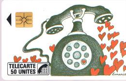 F7 . Naifs Et Primitifs . Coeurs  . SO 2 . - France