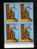 Myanmar 309 ** (4er-Block) Unabhängigkeit // Independence  (1992) - Myanmar (Burma 1948-...)