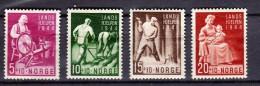 Norvège Y&t N°269.270.271.272. Neufs Avec Aminci - Unused Stamps