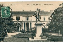 35 - Saint Malo : Le Palais De Justice - Saint Malo