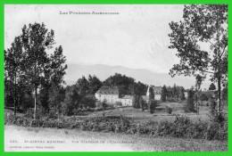 St. GIRONS AUDINAC.Vue Générale De L'Etablissement (recto Verso) - Otros Municipios