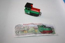 Kinder Locomotive N°1c 630268 1998 - Mountables