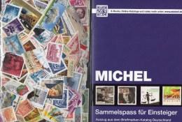 With 250 Stamps Sammelspaß Für Einsteiger 2014 New 60€ Motivation Briefmarken Sammeln Junior-Wissen Catalogue Of Germany - Puzzles