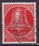 Berlin, 1951 - Freedom Bell - Nr.9N72 Usato° - Oblitérés