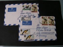 == Sierra Leone , 2  Birds Covers Lot 1982 - Sierra Leone (1961-...)