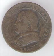 VATICANO / STATO PONTIFICIO 1 SOLDO 1867 - Vaticano