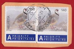 Suisse 2009 -  140 C. Perdrix Bartavelle ( Alectoris Graeca ) - YT 2025 Sur Fragment -