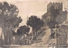 Campobasso - Castello Monforte E Viale Della Rimembranza - Campobasso
