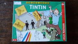 JEUX TINTIN PRINT' DECO Tampons Encreurs Tintin Herge De 1994 - Libri, Riviste, Fumetti