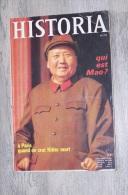 H@ REVUE HISTORIA N° 272, QUI EST MAO ? - Histoire