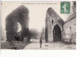 Carte 1910 MERY ES BOIS / LOROY : Ruines D'une Ancienne Abbaye - Otros Municipios